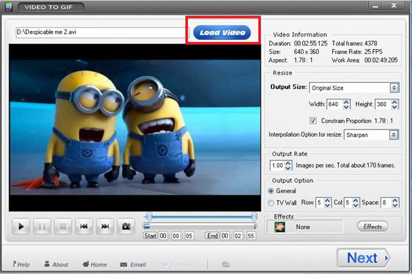 Add an AVI Video File