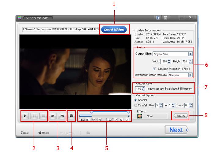 Video to GIF – 将视频转换为 GIF 动画图片丨反斗限免