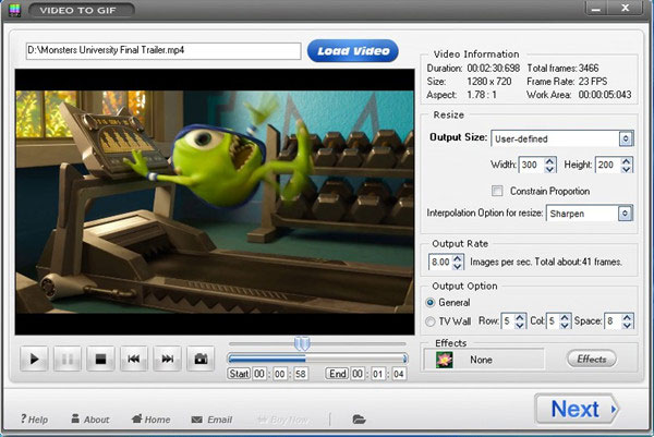 Load a Video File